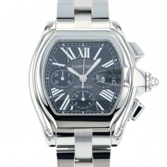 cartier roadster カルティエ ロードスター クロノグラフ w62020x6