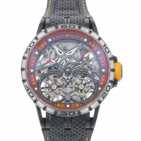 rogerdubuis excalibur ROGER DUBUIS Excalibur spider Double flying tourbillon rddbex0589