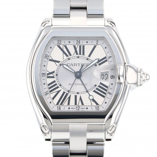 cartier roadster カルティエ ロードスター GMT w62032x6