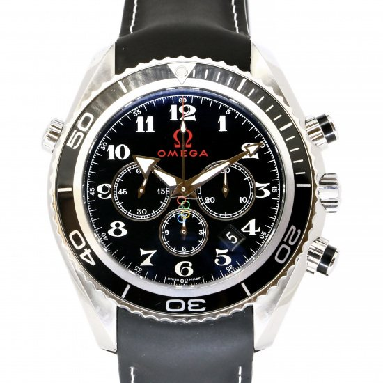 omega seamaster OMEGA Seamaster Coaxial Planet Ocean Chrono Olympic collection 222.32.46.50.01.001