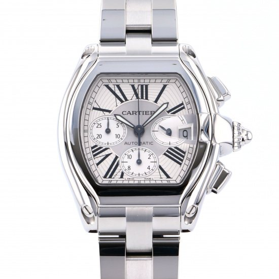 cartier roadster カルティエ ロードスター クロノグラフ w62019x6