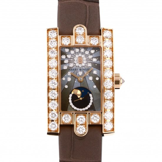harrywinston avenue HARRY WINSTON Avenue Classical Moon phase aveqmp21rr001