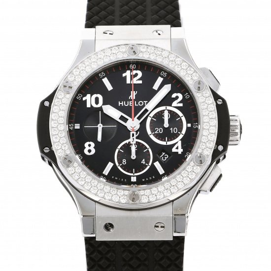 hublot bigbang HUBLOT big Bang steel diamond 301.sx.130.rx.114