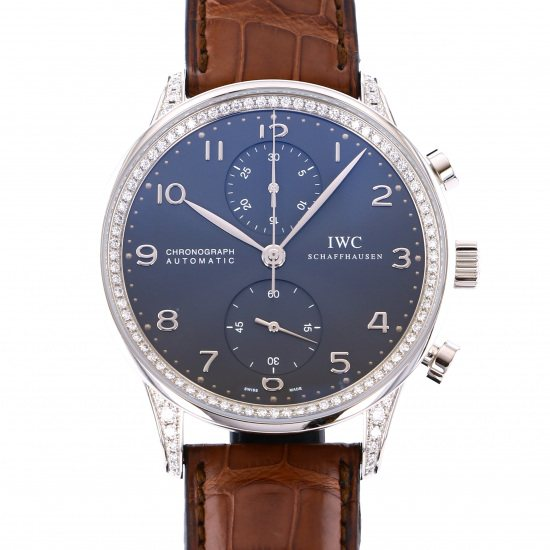 iwc portuguese IWC Portugieser Chronograph Diamond collection iw371474