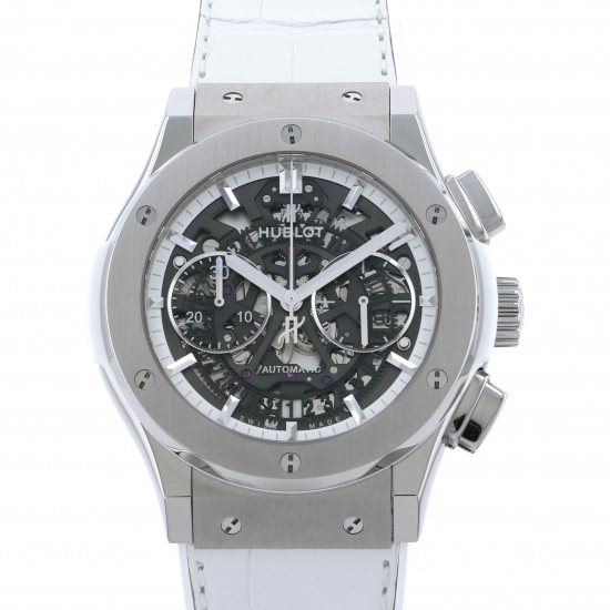 hublot classicfusion HUBLOT Classic fusion Aerofusion Chronograph All white Japan only 525.ne.0127.lr