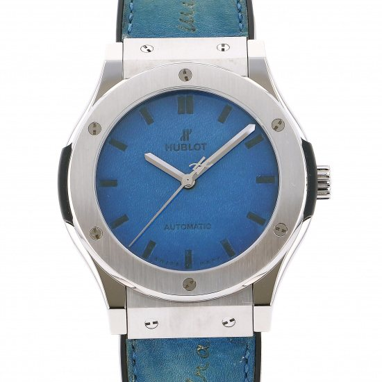 hublot classicfusion HUBLOT Classic fusion Berluti Skrit Ocean blue 500 books in the world 511.nx.050b.vr.ber16