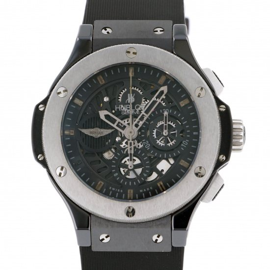 hublot bigbang HUBLOT big Bang Aeroban Morgan 500 books in the world 310.ck.1140.rx.mor08