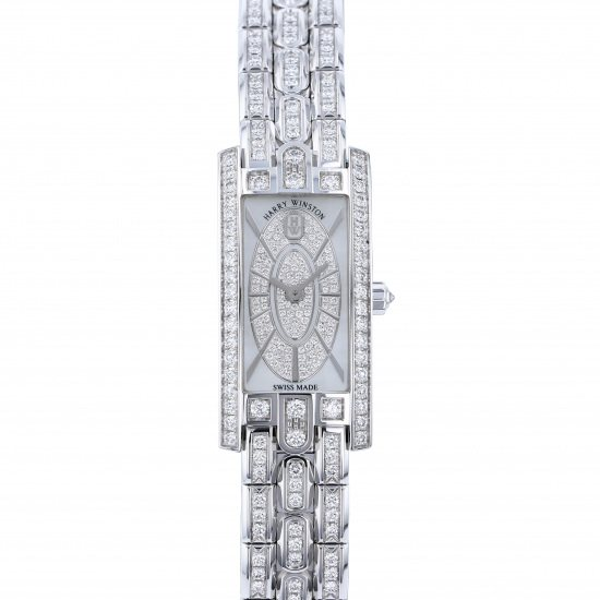 harrywinston avenue HARRY WINSTON Avenue C Mini Elliptic avcqhm16ww054