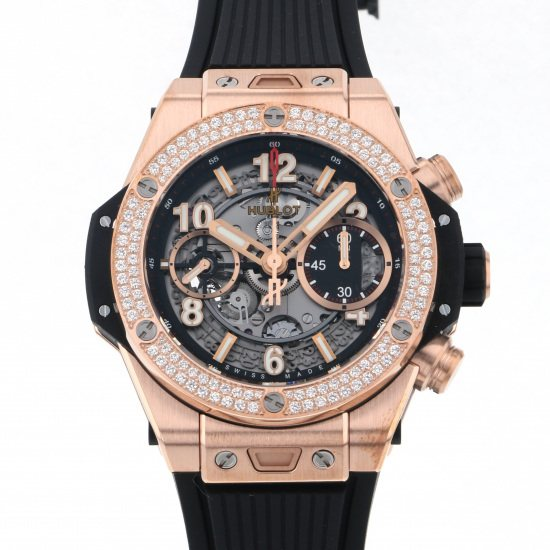 hublot bigbang HUBLOT big Bang Unico King Gold diamond 441.ox.1180.rx.1104