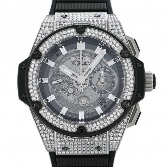 hublot kingpower HUBLOT King power Unico Titanium Diamond 701.nx.0170.rx.1704