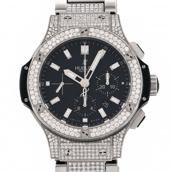 hublot bigbang HUBLOT big Bang Evolution Pave bracelet 301.sx.1170.sx.2704