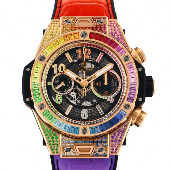 hublot bigbang HUBLOT big Bang Unico King Gold Rainbow 411.ox.9910.lr.0999