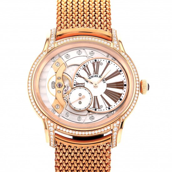 audemarspiguet millenary AUDEMARS PIGUET Millenary hand-rolled 77247or.zz.1272or.01