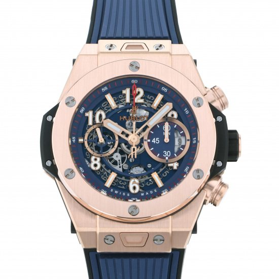 hublot bigbang HUBLOT big Bang Unico King Gold blue 441.ox.5189.rx
