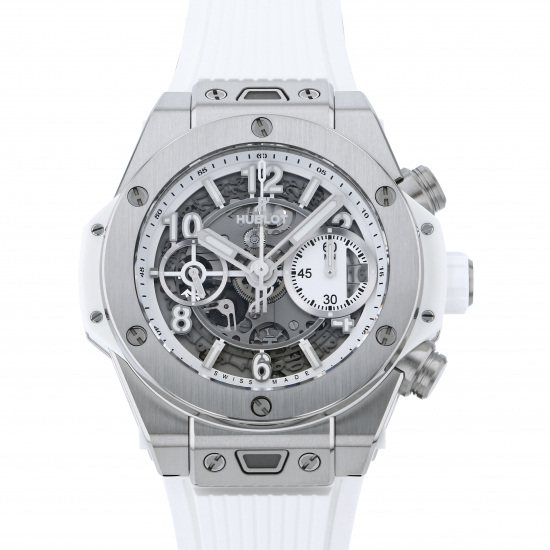 hublot bigbang HUBLOT big Bang Unico Titanium white diamond 441.ne.2010.rw