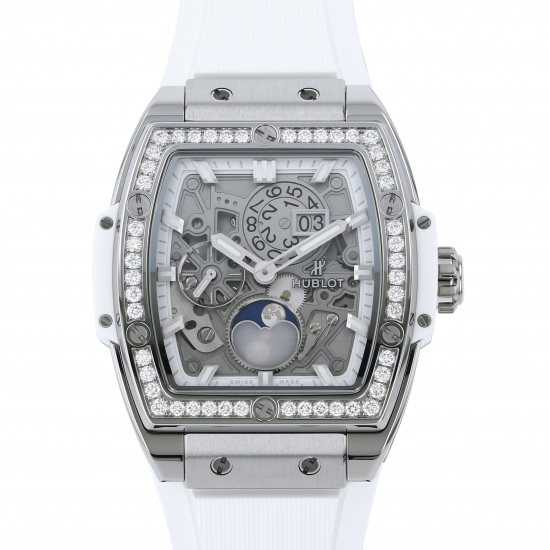 hublot spiritofbigbang HUBLOT Spirit of Big Bang Moon phase Titanium diamond 647.ne.2070.rw.1204