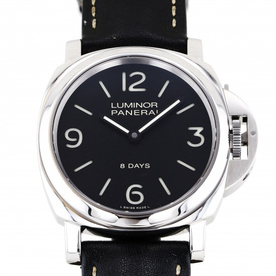 panerai luminor PANERAI Luminor base 8 Days Acciaio pam00560