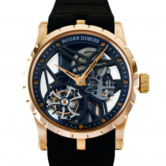 rogerdubuis excalibur ROGER DUBUIS Excalibur 42 Flying tourbillon skeleton dbex0392