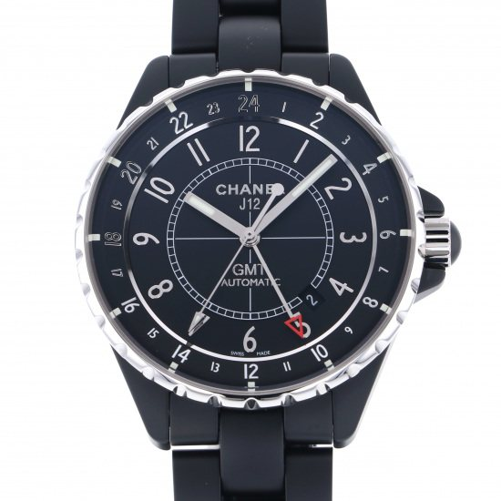 chanel j12 CHANEL J12 GMT Matte black h3101