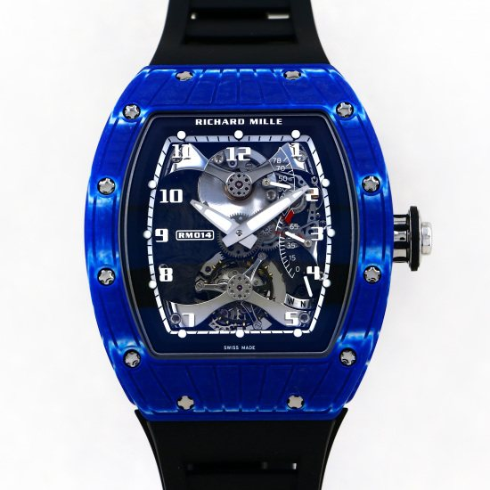 richardmille other Richard Mille Tourbillon Japan Blue 7 limited to Japan rm014