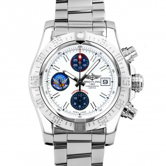 breitling avenger BREITLING Avenger II Blue Impulse Limited Edition a133811a/a811