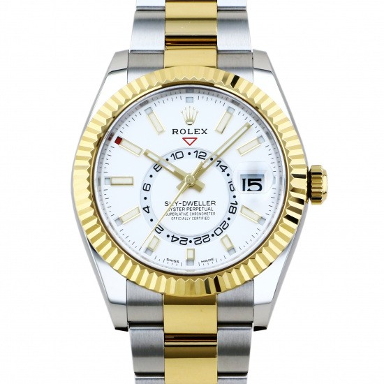 rolex shoot weller Rolex Sky Dweller  326933