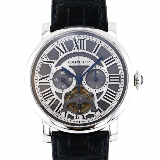 cartier other Cartier Rotondo Do Cartier Tourbillon Single push button chronograph Limited to 50 pieces worldwide w1580007