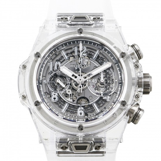 hublot bigbang HUBLOT big Bang Unico Sapphire 500 books in the world 411.jx.4802.rt