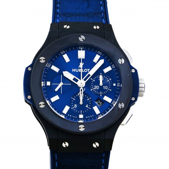 hublot bigbang HUBLOT big Bang ceramic blue 301.ci.7170.lr