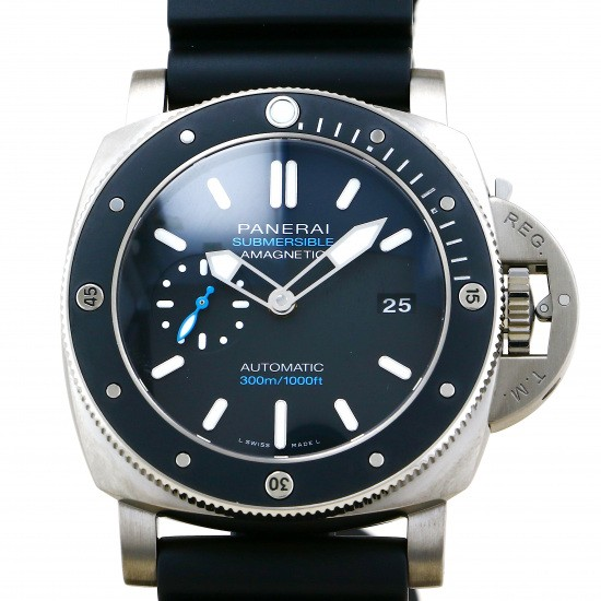 panerai submersible PANERAI Submersible Magnetic 3 Days Titanio pam01389