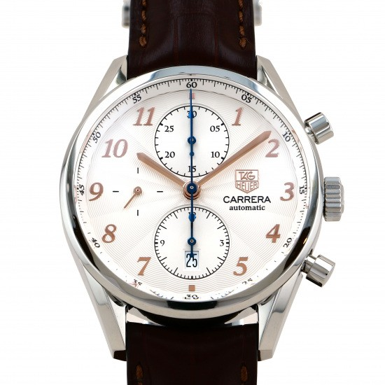 tagheuer career TAG HEUER Carrera Heritage Chronograph Rose gold dial cas2112.fc6291