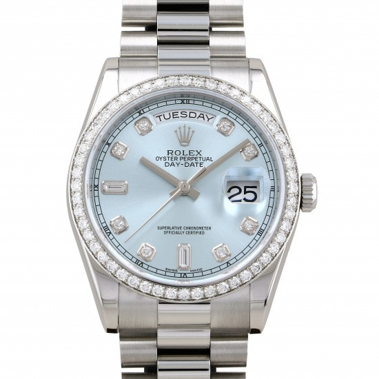 rolex daydate Rolex Day-date Bezel bucket diamond 118346a