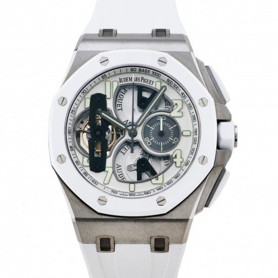 audemarspiguet royaloakoffshore AUDEMARS PIGUET Royal Oak Offshore Tourbillon Chronograph 15 books limited to the world 26387io.oo.d010ca.01