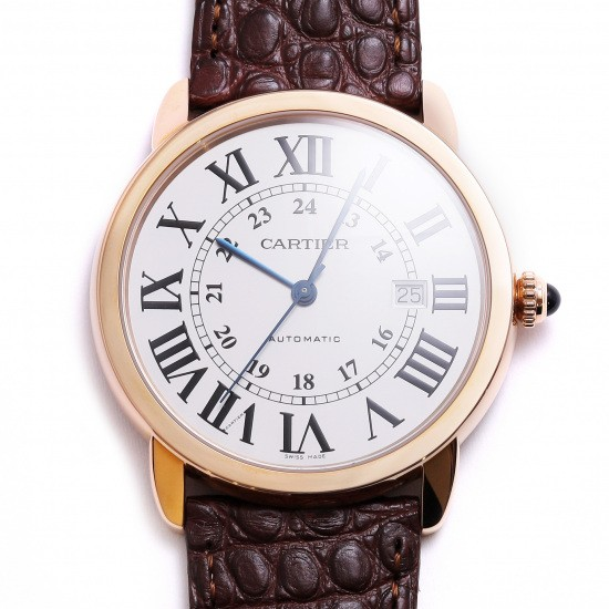 cartier rondesolodecartier 까르띠에 론도소로 특대 w6701009