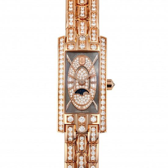 harrywinston avenue HARRY WINSTON Avenue C mini Moon phase avcqmp16rr006