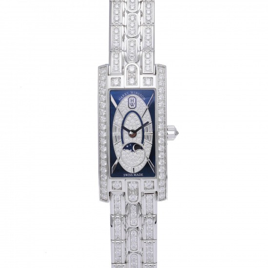 harrywinston avenue HARRY WINSTON Avenue C Mini Moon Phase avcqmp16ww009