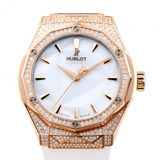 hublot classicfusion HUBLOT Classic fusion Aurinsky King Gold white Pave 550.os.2200.rw.1604.orl20
