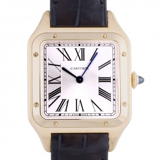 cartier santos Cartier SANTOS Dumont watch LM World Limited 300 wgsa0027