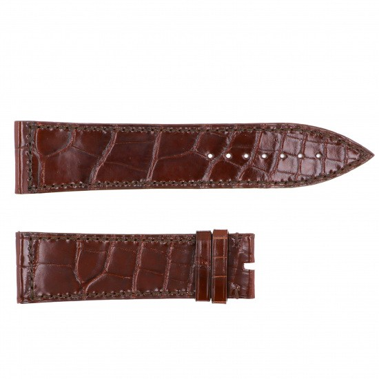 strap franckmuller Genuine strap Frank Muller For 1100/1150/1200/1250/1300/1350 Brown croco Glossy -