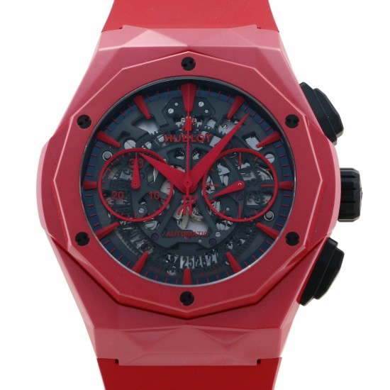 hublot other HUBLOT Aerofusion Chronograph Aurinsky Red Magic [200 limited to the world] 525.cf.0130.rx.orl19