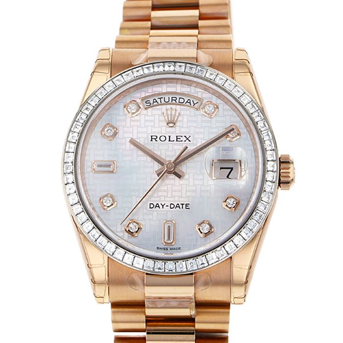 Rolex ROLEX Day-date 118395BR New product Watch mens