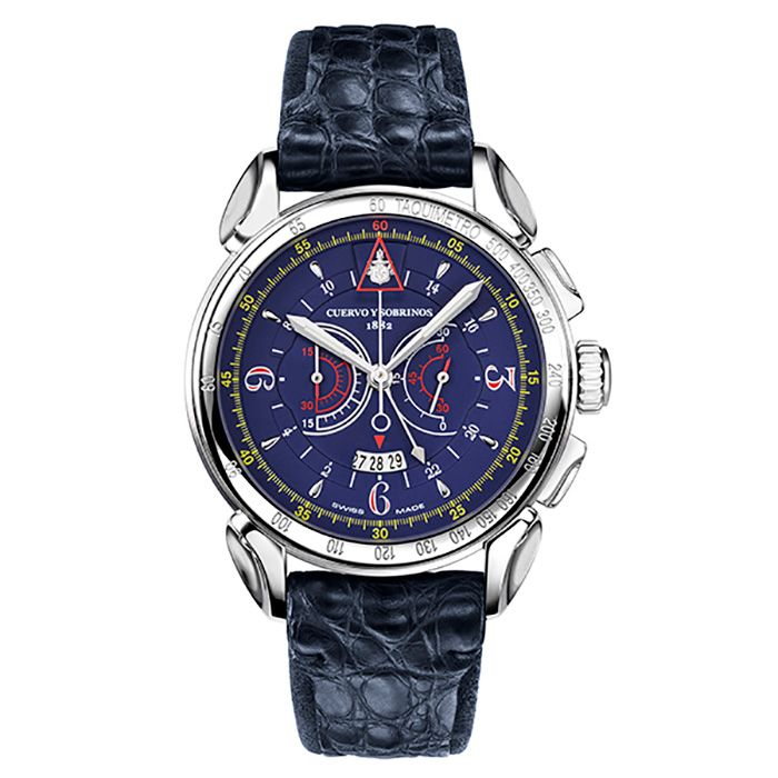 Cuervo y Sobrinos CUERVO Y SOBRINOS Historia Doll Vero 3201-1B New product Watch mens