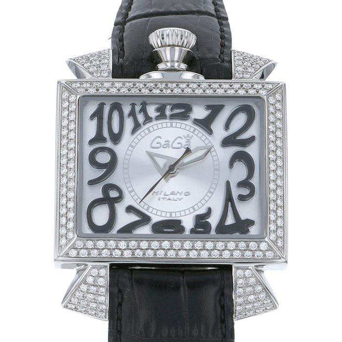Gaga Milano GaGa MILAN Napoleone diamond 6000.5D New product Watch mens