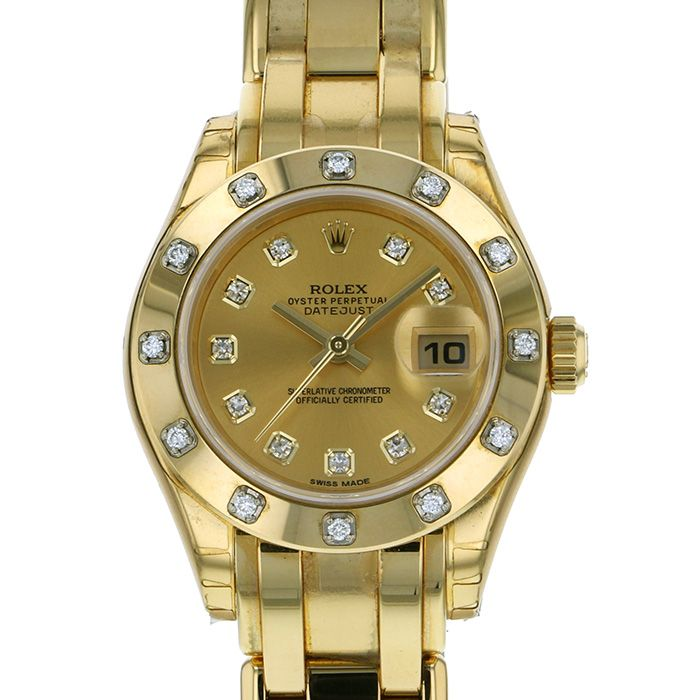 Rolex ROLEX Datejust 80318G New product Watch Women