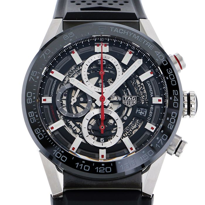 TAG HEUER TAG THIS YEAR Carrera Caliber Heuer 01 CAR201V.FT6046 New product Watch mens