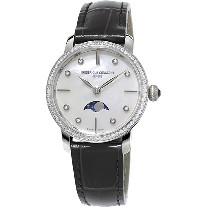 Frederique Constant FREDERIQUE CONSTANT Slim Line Moon phase FC-206MPWD1SD6 New product Watch Women