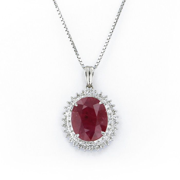 Yukizaki Select Jewelry YUKIZAKI SELECT JEWERLY Necklace / pendant platinum Ruby New product jewelry