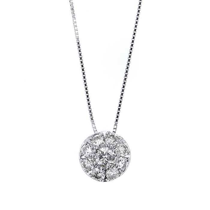 Yukizaki Select Jewelry YUKIZAKI SELECT JEWERLY Necklace / pendant White Gold diamond necklace New product jewelry