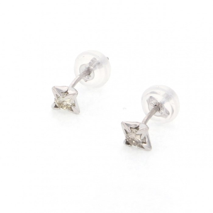 Yukizaki Select Jewelry YUKIZAKI SELECT JEWELRY Earrings White Gold diamond Earrings New product jewelry