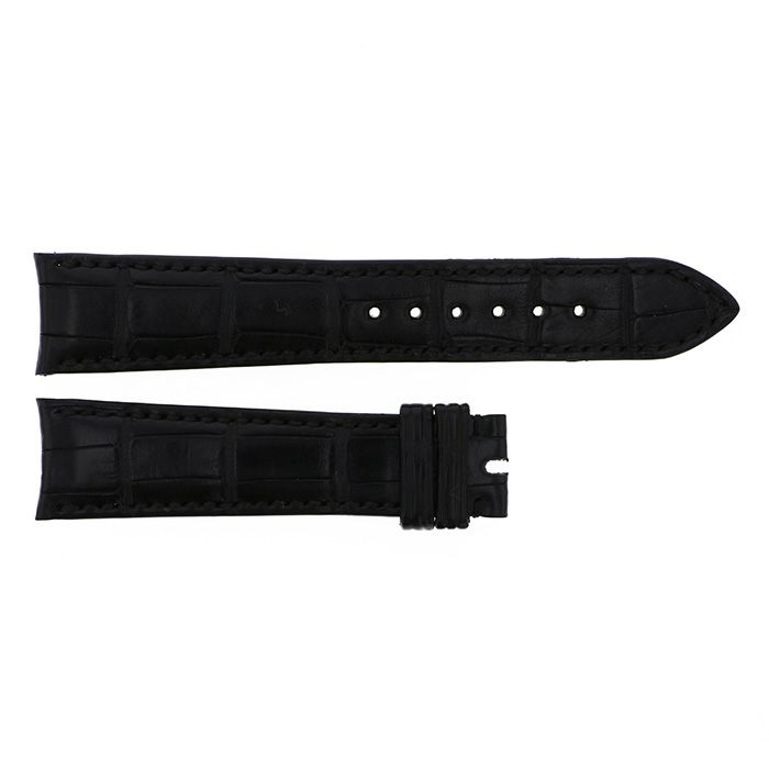 Genuine strap STRAP Rolex Black croco New product Replacement Belt mens
